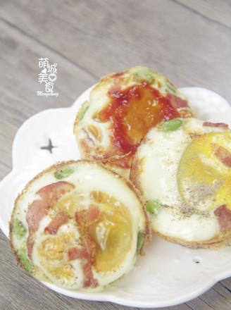 营养早餐烤鸡蛋的做法