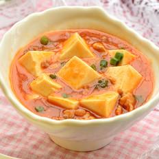 红烩肉末豆腐