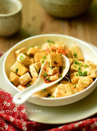 微波麻辣豆腐的做法