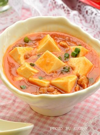 红烩肉末豆腐的做法