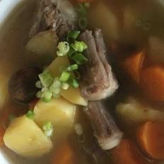 干锅白菜怎么做轻药膳滋补牛尾汤的做法