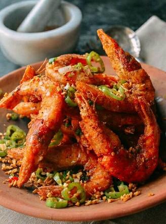 椒鹽大蝦的做法