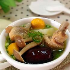 山药菌菇母鸡汤