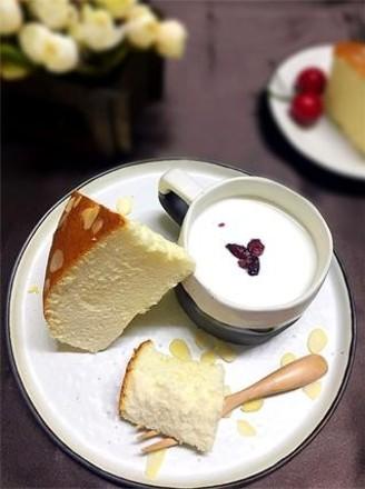 无油酸奶杏仁蛋糕的做法