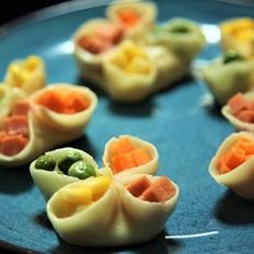 有家鲜厨房:冬至养生餐-四喜煎饺
