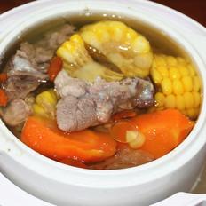 鱼放什么一起煮好吃胡萝卜玉米排骨汤的做法