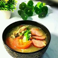 牛尾汤杂蔬砂锅