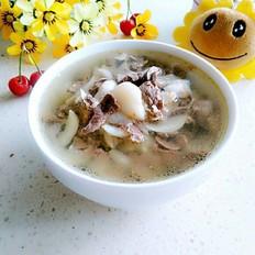 百合豬心湯