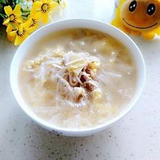 金針菇瘦肉雞蛋湯
