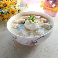 百合肉丸蛋湯
