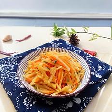 胡蘿卜拌土豆絲