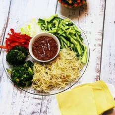 東北蘸醬菜 營養省事又爽口