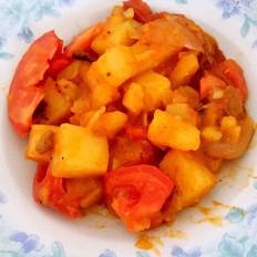 土豆炖番茄