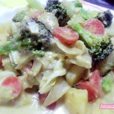 綠咖喱雜菜