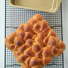 锅出溜怎么做红糖老面包的做法