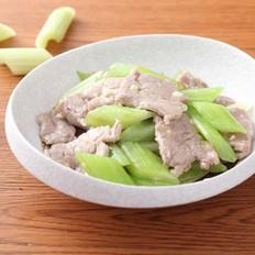 西芹炒肉片