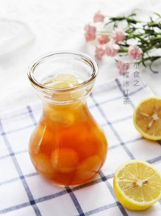 柠檬冰红茶的做法