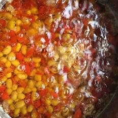 油焖辣黄豆