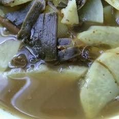 烤箱大全洋芋酸汤的做法