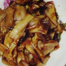 紅燒雞腿菇