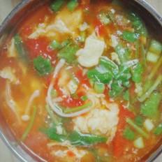 番茄雞蛋湯