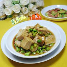 毛豆燒豆腐