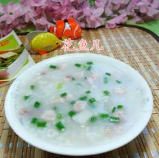 咸肉香芋大米粥