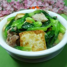 青菜豆腐肉骨湯