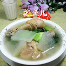 青菜冬瓜雞腿湯