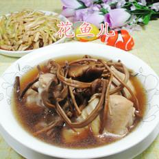 茶樹菇雞腿湯