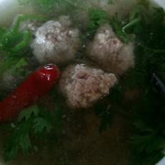 广东菜干怎么做羊肉丸子汤的做法