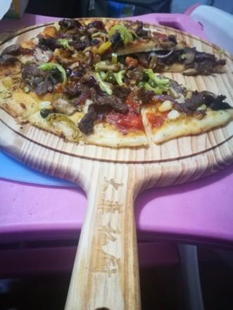 清真牛肉蘑菇披萨的做法