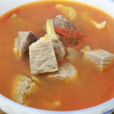 西红柿牛肉煲