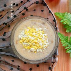 雞蛋綠豆小米粥