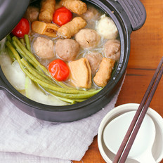 泡鸡爪的做法粉丝丸子汤的做法