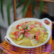培根炒土豆