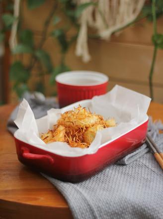 椰丝烤虾仁的做法