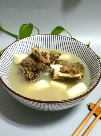 牛骨山药汤的做法