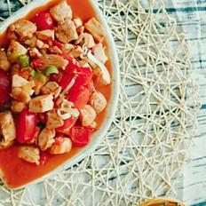 番茄炒鸡胸肉