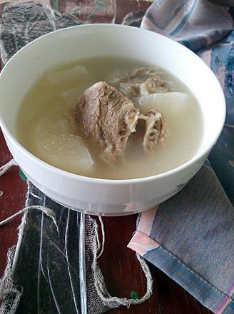 白萝卜排骨汤的做法