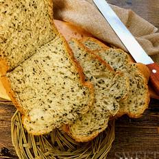 黑芝麻面包(面包機版)