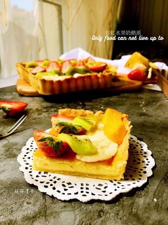 奶酪水果派的做法