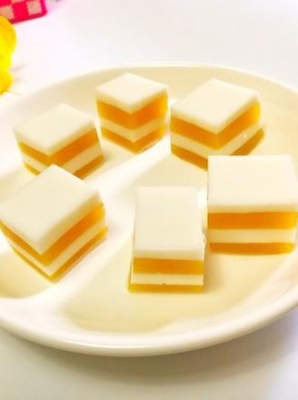 芒果千层糕的做法
