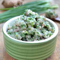 西米露怎么煮好吃嫩韭鱼肉馅的做法