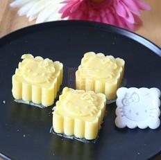 奶香绿豆糕