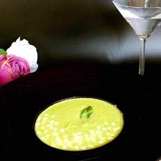 芦笋蘑菇奶油浓汤