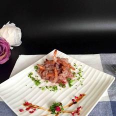红酒柠檬虾