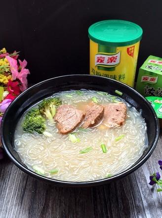 南京牛肉粉丝汤的做法