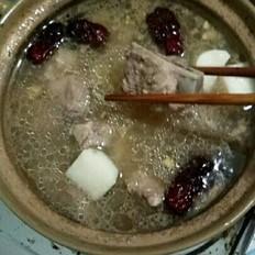 淮山猪骨汤的做法