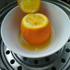 蒸鹽橙~止咳化痰小偏方